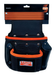 """9"""" x 11"""" Bahco Two Pocket Fixings Pouch - 4750-2PP-1"""