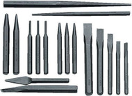Williams Punch and Chisel Set 17 Piece - PC-17