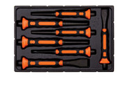 Bahco Soft Grip Punch and Chisel Set 7 Piece - 3654BMS/7