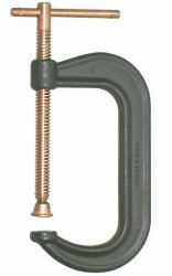 "4"" Williams Drop Forged C-Clamp Copper - CC-404C"