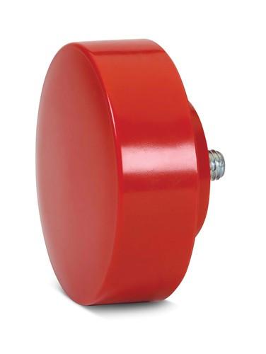 "4"" Williams Medium Durometer Red Replacement Tip - SHSFDB-40M"
