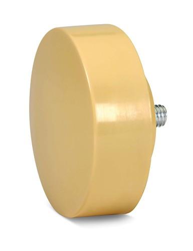 "4"" Williams Med/Hard Durometer Cream Replacement Tip - SHSFDB-40N"
