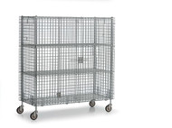 Williams Stationary Bulk Storage Cage - 1800 Pounds - WBSC2460S