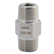 "Williams Male Connector - Male 3/8""-18NPTF-Male 3/8""-18NPTF - 8FN38M"