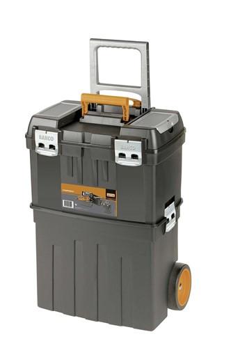 "24 3/4"" Bahco Plastic Tool Box on Wheels - 4750PTW47"