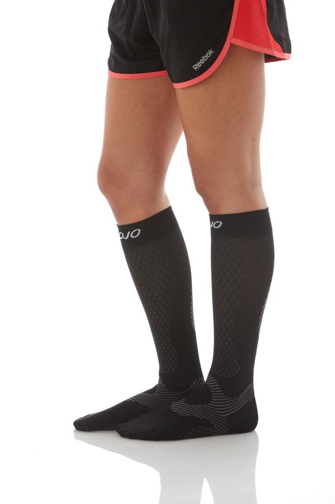 Mojo Basics - Athletic Compression Socks -- Medium Support (15-20mmHg )