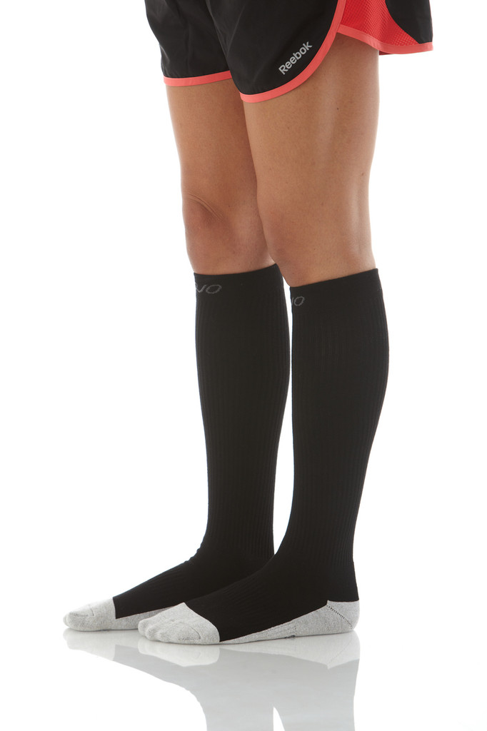 Mojo Sport - Silver Soled Compression Socks  -- Firm Support (20-30mmHg)