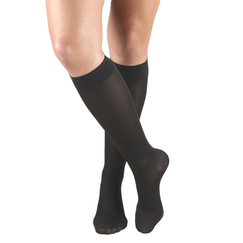 Mojo Basics - Unisex Microfiber Compression Socks -- Medium Support (15-20mmHg)