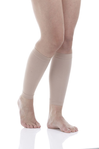 Mojo Basics Calf Compression Running Sleeves  1 pair * Great for Shin Splint and Calf Pain Relief- Medium Support (15-20mmHg)