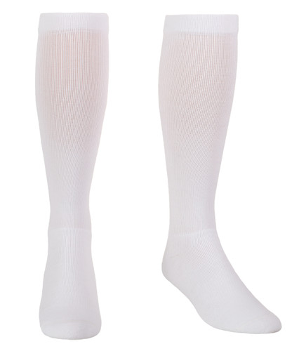 Mojo Basics - Over-The-Calf Coolmax Compression Socks -- Firm Support (20-30mmHg)