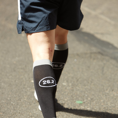 Mojo Special Edition - Marathon Decal Compression Socks - Firm Support (20-30mmHg)