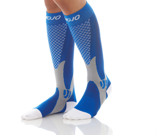 Elite Recovery & Performance Compression Socks - Blue