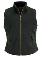 Ladies Quilted Oilskin Vest