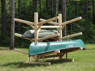 6 Place Kayak / Canoe Rack – Double Sided- Shipping Included