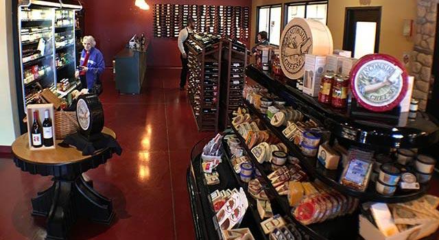 Door County Cave Market Specialty Market in Egg Harbor