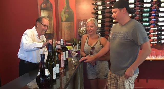 Door County Wine Sampling in Egg Harbor, Door County WI