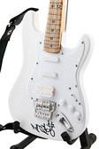 Miniature Guitar Richie Sambora White