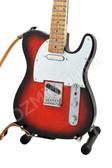 Miniature Guitar Tele Sunburst Color