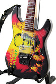 Miniature Guitar ESP KH-2 The Mummy Kirk Hammett Metallica