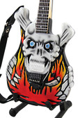 Miniature Guitar George Lynch ESP Flaming Skull
