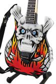 Miniature Guitar George Lynch ESP Flaming Skull