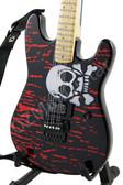 Miniature Guitar RATT Warren DeMartini Blood Skull