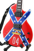 Miniature Guitar ZAKK WYLDE Confederate Les Paul