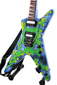 Miniature Guitar Dean Concrete Sledge ML SLIME BURST