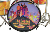 The BEATLES Yellow Submarine Miniature Drum Set