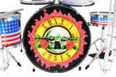 GUN N ROSES Miniature Drum Set PROPORTIONAL