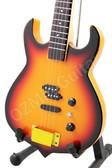 Miniature Guitar Gene Simmons KISS PUNISHER Bass Sunburst