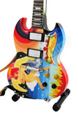 Miniature Guitar Eric Clapton FOOL SG