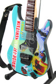Miniature Guitar Kirk Hammett METALLICA Bride Of Frankenstein