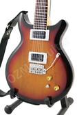 Miniature Guitar Carlos Santana PRS Sunburst