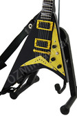 Miniature Guitar RANDY RHOADS Black and Gold