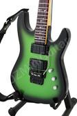 Miniature Guitar Kirk Hammett Metallica KH-2 SE Greenburst