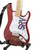 Miniature Guitar Stevie Ray Vaughan LENNY