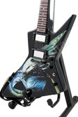 Miniature Guitar Dean Dave Mustaine Zero Angel of Deth II