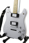 Miniature Guitar Ace Frehley KISS Chrome VELENO