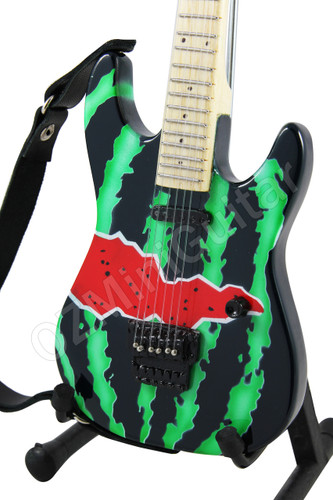 miniature guitar dweezil zappa jackson watermelon ozminiguitar. Black Bedroom Furniture Sets. Home Design Ideas