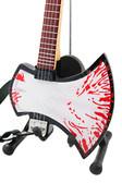 Miniature Guitar Gene Simmons KISS Blood AXE Bass
