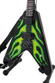 Miniature Guitar James Hetfield Metallica HOT ROD
