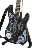 Miniature Guitar Kirk Hammett Metallica OUIJA