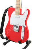 Miniature Guitar Tele RED Color