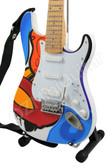 Miniature Guitar Eric Clapton Crash 2