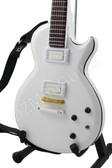Miniature Guitar Buckethead White LP