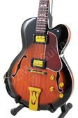 Miniature Guitar Lee Ritenour Jazz L-5 Sunburst