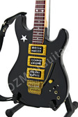 Miniature Guitar Richie Sambora Signature Vintage 1987 Black Jersey Star