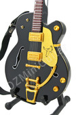 Miniature Guitar Black Falcon Bigsby
