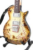 Miniature Guitar Rammstein Richard Z Kruspe ESP RZK II